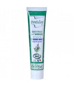 Denticlay - Dentifrice à l'Argile et à la Sauge Bio - 75 ml
