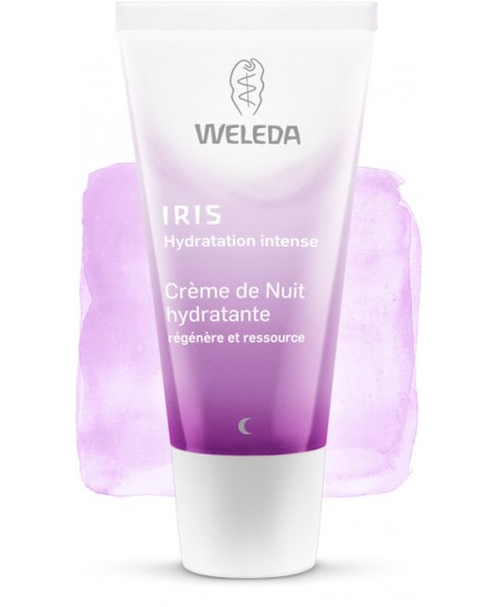 Weleda - Crème de Nuit hydratante - 30 ml