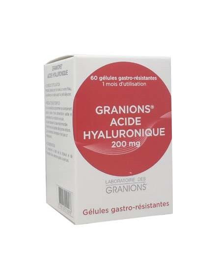 Laboratoire Des Granions - Acide Hyaluronique - 60 Gélules