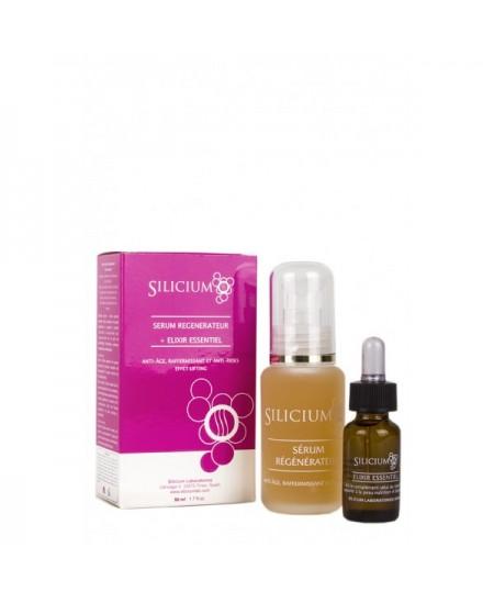 Sérum 50 ml anti âge et anti rides et élixir essentiel 20 ml - Silicium