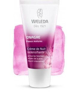 Weleda - Crème de nuit redensifiante à l'onagre - 30 ml
