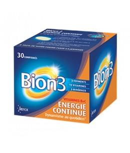 Bion3 - Energie Continue - 30 comprimés