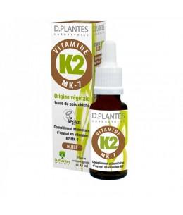 D. Plantes - Vitamine K2 Huile - flacon 15 ml