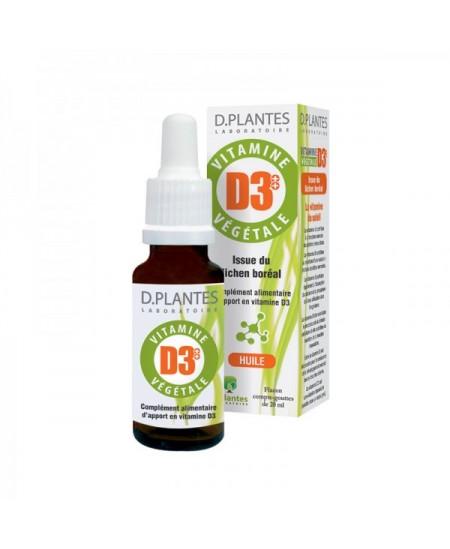 D. Plantes - Vitamine D3+ + Végétale - flacon 20 ml