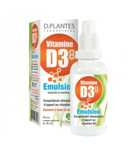 D. Plantes - Vitamine D3+ + Emulsion - flacon 30 ml