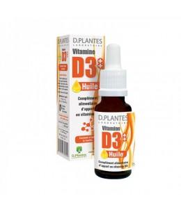D. Plantes - Vitamine D3+ + Huile - flacon 20 ml