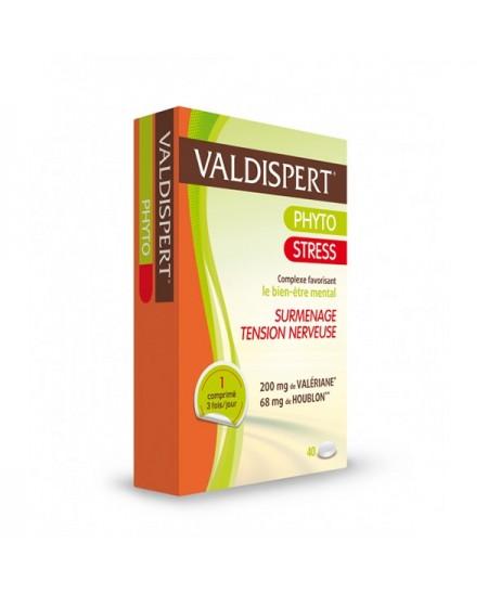 Valdispert - Phyto Stress - 40 Comprimés