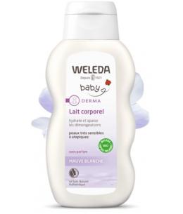 Weleda - Lait corporel bébé à la Mauve blanche - 200 ml