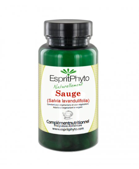 EspritPhyto - Sauge - 90 gélules