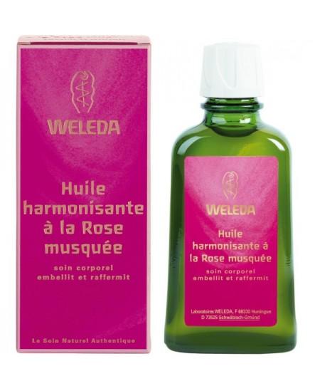 Weleda - Huile Harmonisante à la Rose Musquée - 100 ml