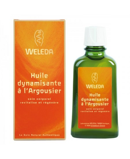 Weleda - Huile Dynamisante à l'Argousier - 100 ml