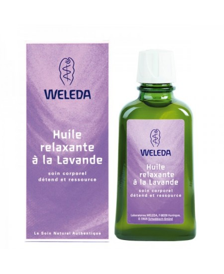 Weleda - Huile Relaxante à la Lavande - 100 ml
