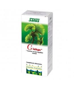 Salus - Suc de plantes Bio ginkgo - flacon 200 ml