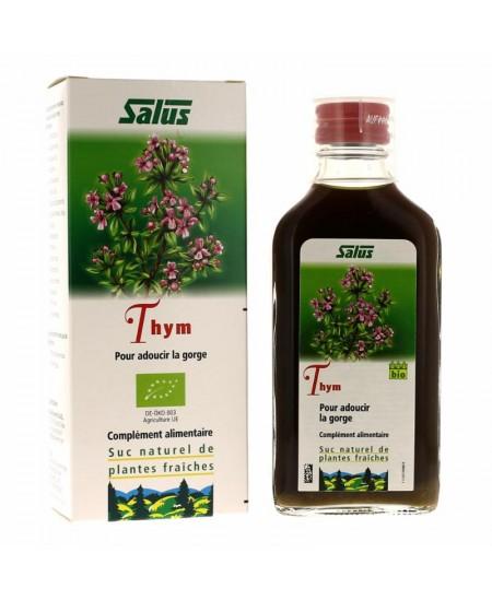 Salus - Suc de plantes Bio thym - flacon 200 ml