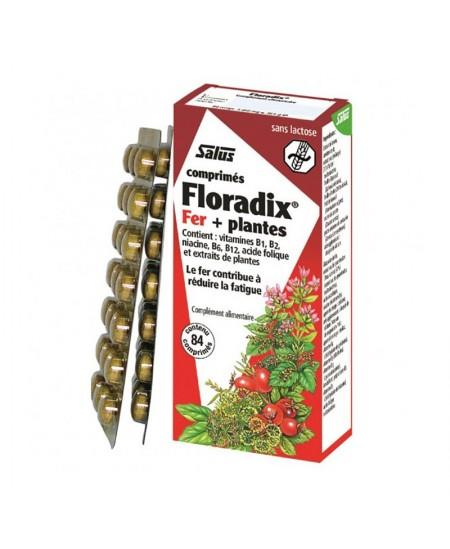 Salus - Floradix fer + plantes - 84 comprimés