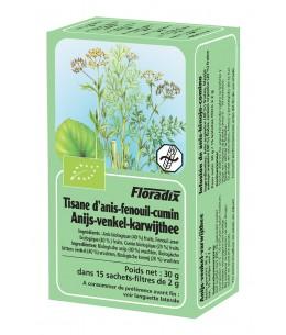 Salus - Tisane Bio anis-fenouil-cumin - 15 sachets