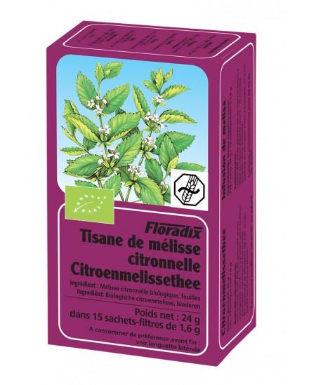 Salus - Tisane Bio mélisse citronnelle - 15 sachets