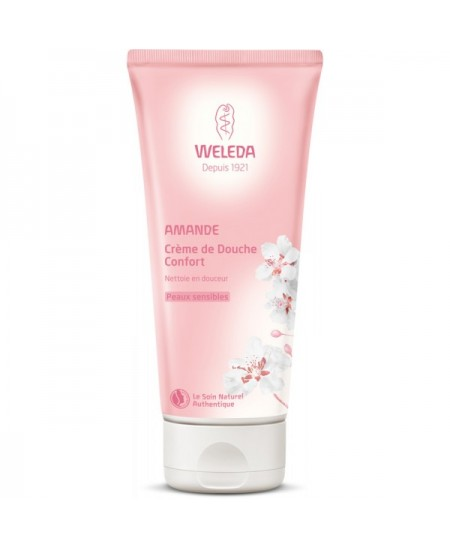 Weleda - Crème douche confort amande - 200 ml
