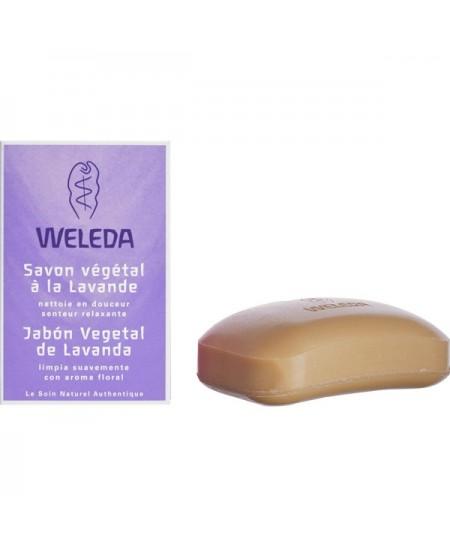 Weleda - Savon végétal à la lavande - 100 g