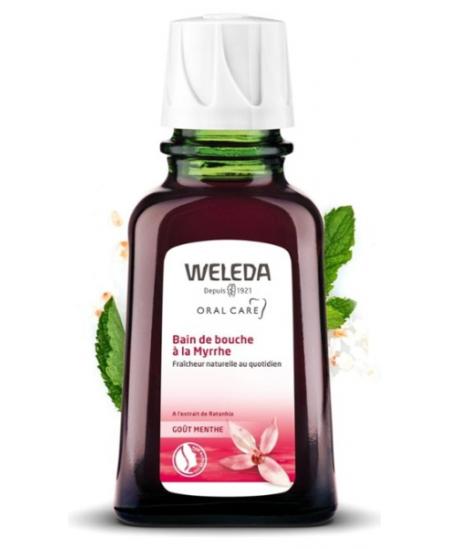 Weleda - Bain Bouche à la Myrrhe - 50 ml
