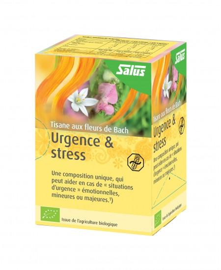Salus - Tisane aux fleurs de Bach Urgence & Stress BIO - 15 sachets