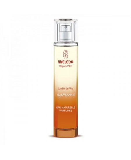Weleda - Eau naturelle parfumée : Jardin de Vie Agrume - 50 ml