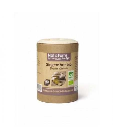 Nat & Form - Gingembre Bio - 90 gélules
