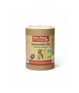 Nat & Form - Hamamélis Bio -90 gélules