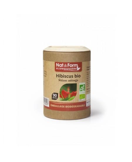 Nat & Form - Hibiscus Bio - 90 gélules