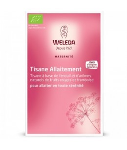 Weleda - Tisane Allaitement Fruits rouges - 20 sachets de 2 g