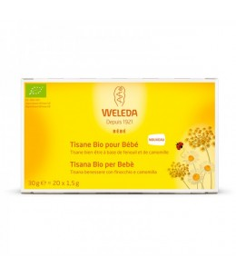 Weleda - Tisane Bio pour bébé - 20 sachets de 1,5 g
