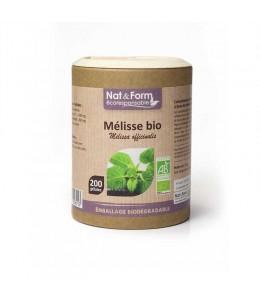 Nat & Form - Mélisse Bio - 200 gélules