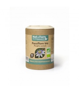 Nat & Form - Passiflore Bio - 90 gélules
