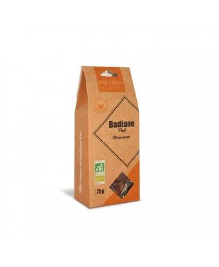 Nat & Form - Tisane badiane Bio - 75 g