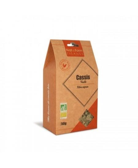 Nat & Form - Tisane Cassis Bio - 50 g