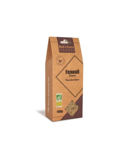 Nat & Form - Tisane Fenouil Semence Bio - 100 g