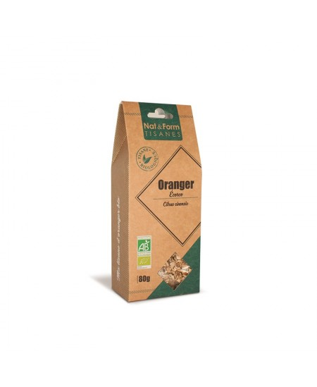 Nat & Form - Tisane Oranger Bio - 80 g
