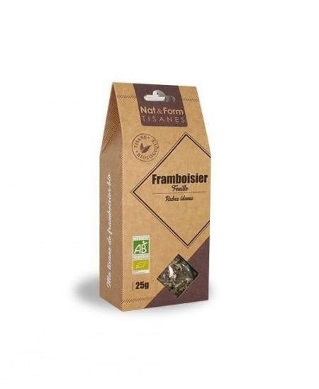 Nat & Form - Tisane Framboisier Feuille Bio - 25 g