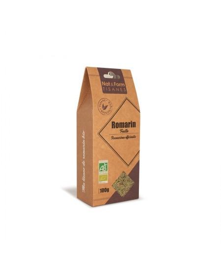 Nat & Form - Tisane Romarin Bio - 100 g