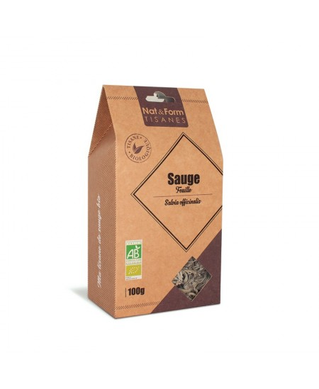 Nat & Form - Tisane Sauge Feuille Bio - 100 g