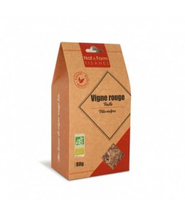Nat & Form - Tisane Vigne Rouge Feuille Bio - 80 g