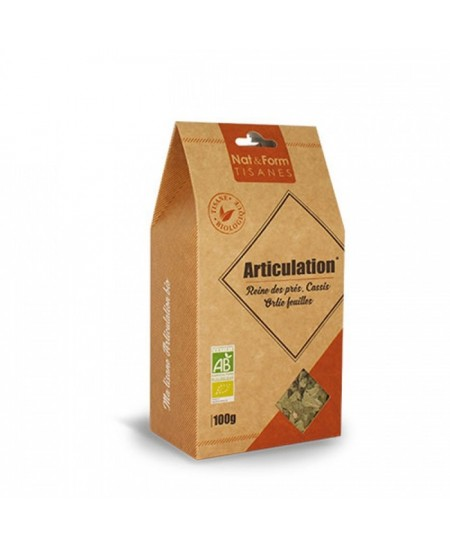 Nat & Form - Tisane Articulation Bio - 100 g