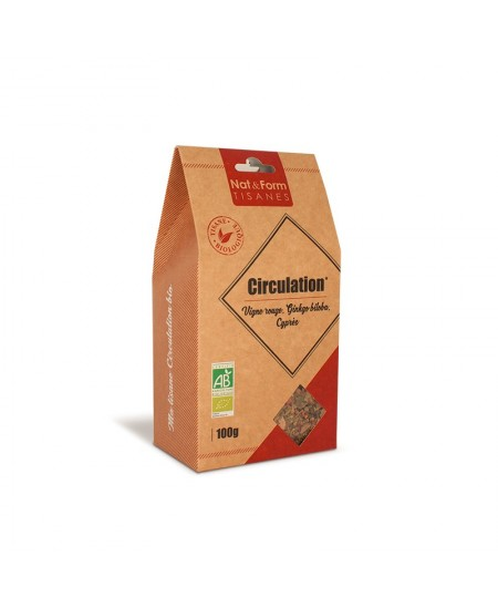 Nat & Form - Tisane Circulation Bio - 100 g