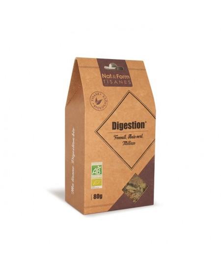Nat & Form - Tisane Digestion Bio - 80 g