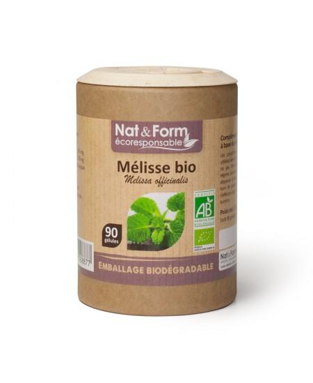 Nat & Form - Mélisse Bio - 90 gélules