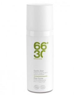 66 30 - Cycle Jour Fluide visage 6 en 1 ultra hydratant homme - 50 ml