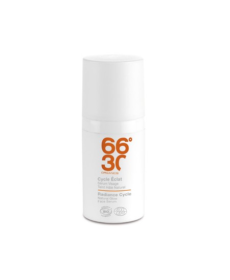 66 30 - Cycle Eclat Sérum Visage Teint Hâlé Naturel homme - 50 ml