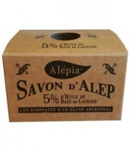 Alepia - Savon d'Alep 5% Laurier - 190 gr