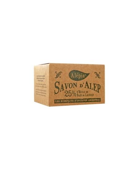 Alepia - Savon d'Alep 25% Laurier - 190 gr