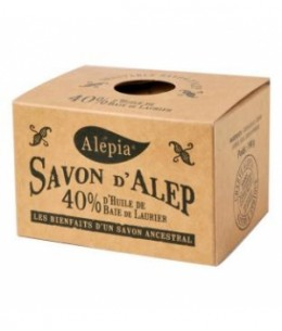 Alepia - Savon d'Alep 40% Laurier - 190 gr